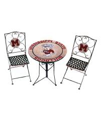 Mississippi State Bulldogs Bistro Set by