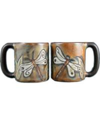Dragon Fly Round Stoneware Mug by
