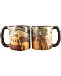 Pueblo Round Stoneware Mug by