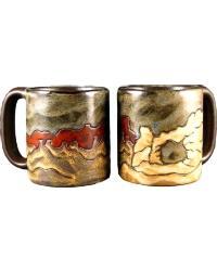 Arches Round Stoneware Mug by