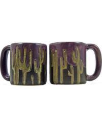 Cactus Round Stoneware Mug by