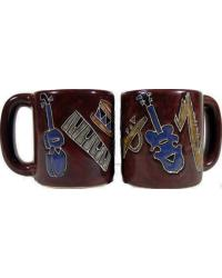 Musical Instruments Round Stoneware Mug by