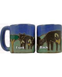 Cows Round Stoneware Mug by