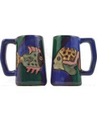 Fish Stoneware Stein by