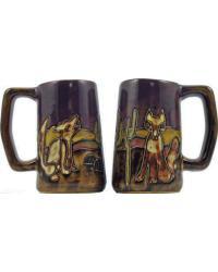 Coyote Stoneware Stein by