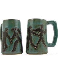 Dancers Stoneware Stein by