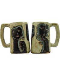 Three Women Stoneware Stein by