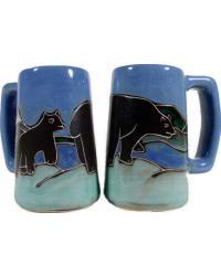Bears Stoneware Stein by