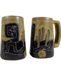 Kokopelli Stoneware Stein by