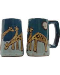 Giraffes Stoneware Stein by