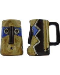 Mask Blues Sculpted Stein by