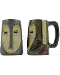 Mask Heart Sculpted Stein by