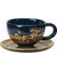 Moose Latte Mug by