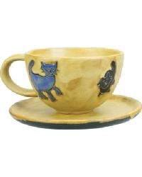 Cat Latte Mug by