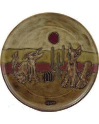 12in Dinner Plate - Coyote by