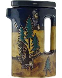 40oz Tall Tea Pot - Eagle by