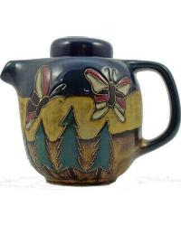 44oz Tea Pot - Butterfly/Trees by