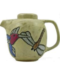 44oz Tea Pot - Desert Hummingbird by