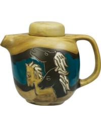 44oz Tea Pot - Horses by