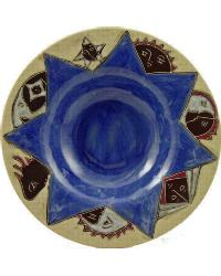 12in Pasta Plate - Celestial Blue by