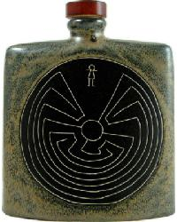 24 oz. Square Decanter - Man in Maze by