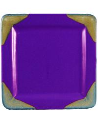 Purple Square Dinner Plate by