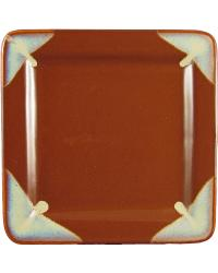 Chocolate Square Dinner Plate by