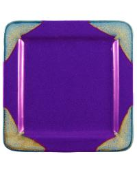 Purple Square Salad Plate by