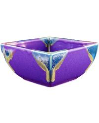 Purple Square Bowl by