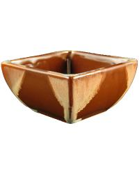 Chocolate Square Bowl by