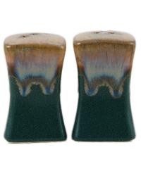 Matte Green Salt and Pepper by