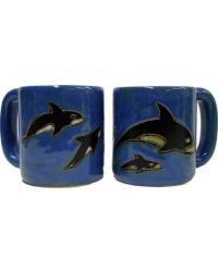 Orcas Round Stoneware Mug by