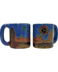 Red Rock Round Stoneware Mug by