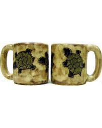 Desert Turtle Round Stoneware Mug by