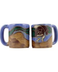 Grizzly Bear Round Stoneware Mug by