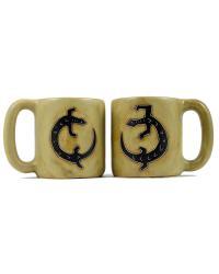 Geckos Round Stoneware Mug by