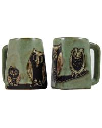 Owls Square Stoneware Mug by