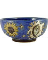 Celestial Blue Serving Bowl by