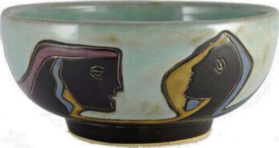 Mara 72 oz. Serving Bowl - Faces/Light Green  Search Results