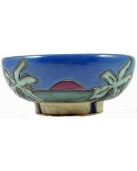 Palm Trees Beach Small Serving Bowl by