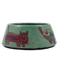 Cats Green Cat Dish by