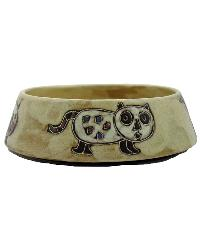 SMALL Cat Dish - Brown by