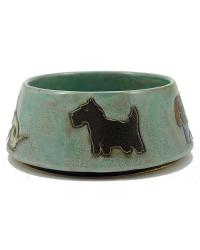 LARGE Dog Dish - Green by