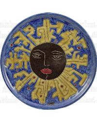12in Dinner Plate - Suns/Blue by