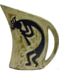 32 oz. Curved Pitcher - Kokopelli Traditional by