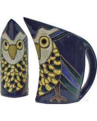 32 oz. Curved Pitcher - Owl by