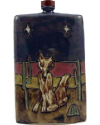 44 oz. Rectangular Decanter - Coyote by