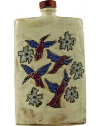 44 oz. Rectangular Decanter - Hummingbird by
