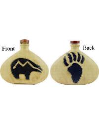 28 oz. Decanter - Bear/Paw by
