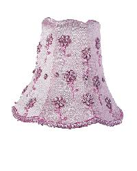 Chandelier Shade - Daisy Pearl - Pink by
